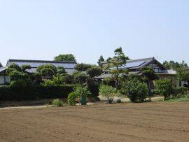 切妻屋根(千葉県香取郡)画像