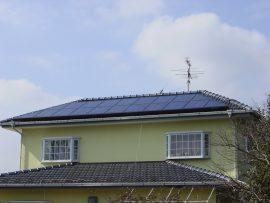寄棟屋根(千葉県香取郡)画像